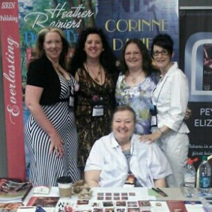Heather Rainier, Corinne Davies, Me, Peyton Elizabeth and Morgan Ashbury RT 2013