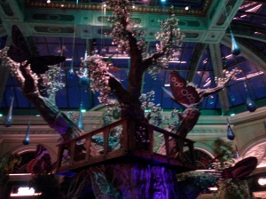 The Glowing Tree at the Bellagio