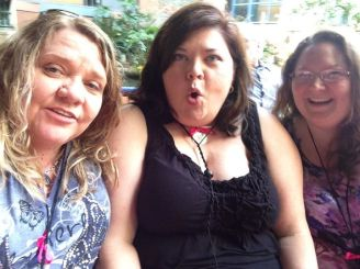 WWW 2014 (Trish Bowers, Tracey Reid, and Me)