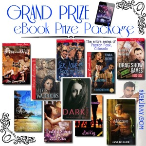 Fill up those eReaders Grand Prize