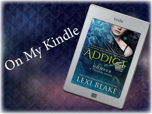 On my Kindle Logo Addict