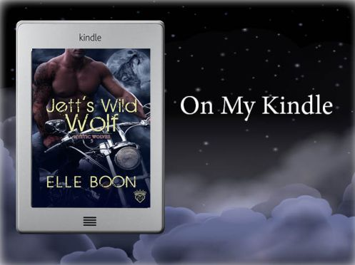 On my Kindle Logo Jett
