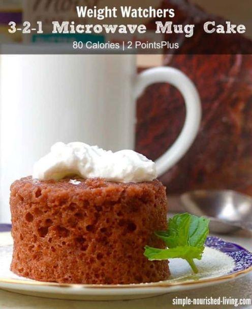 Ww Mug Cake
