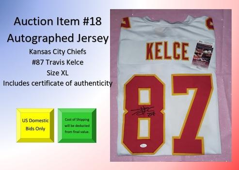 18 Kelce Jersey