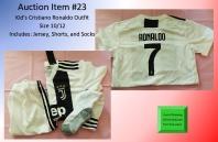 23 Kids Ronaldo Outfit